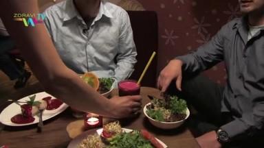 MAITREA a LEHKÁ HLAVA - vegetariánské Restaurace v Praze, natočil Libor Jeřábek