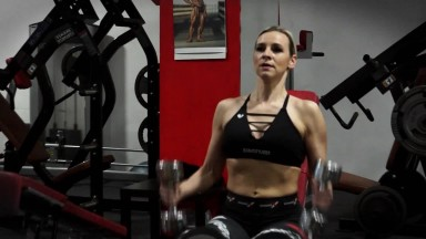Monika Klementova bikiny fitness, kamera Libor Jerabek