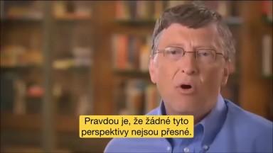 Bill Gates satanistický sociopat robí genocídu ľudstva smrtiacimi vakcínami plných jedov